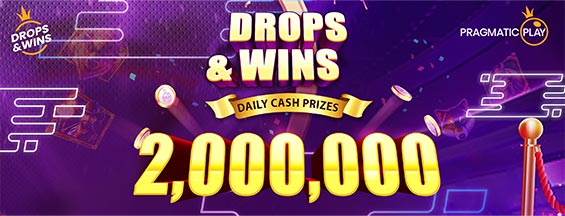 Drops and Wins Daily Cash Prizes